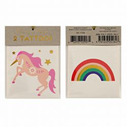 Unicorn & Rainbow Tattoos : Meri Meri