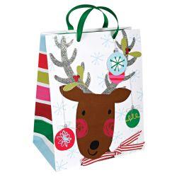 Reindeer Christmas Gift Bag