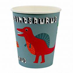 Dinosaur Bicchieri di Meri Meri :: disponibili su Baby Bottega