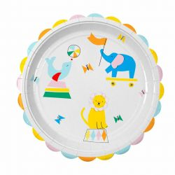 Silly Circus Large Plates from Meri Meri :: Baby Bottega