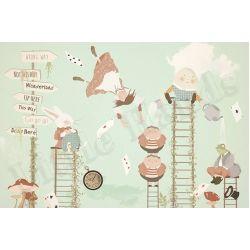 Murale Carta da Parati Alice in Wonderland