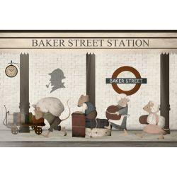 Baker Street Wallpaper Mural
