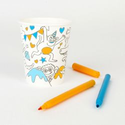 Colouring Party Cups