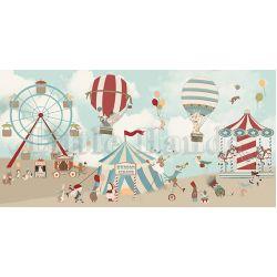 Murale Carta da Parati Hudson Circus