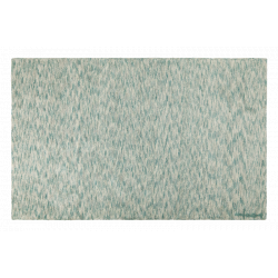 Small Rug Mixed Emerald Green