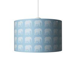 Elephants Hanging Lamp