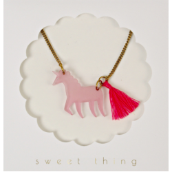 Unicorn Necklace from Meri Meri
