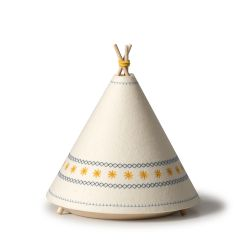 Yellow Teepee Table Lamp