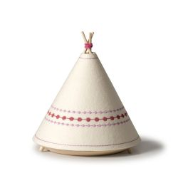 Pink Teepee Table Lamp
