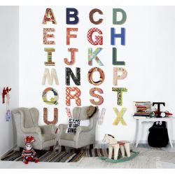 Spell and tell Wallpaper Mural