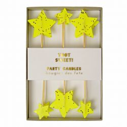 Toot Sweet Star Candles