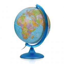 Night & Day World Map Lamp