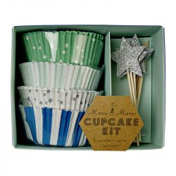 Kit per Cupcakes Toot Sweet Blue