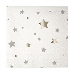 Tovaglioli Piccoli Silver Stars
