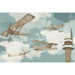 Murale Carta da Parati Flying