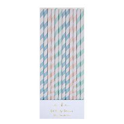 Cannucce Multicolore Pastello di Meri Meri :: acquista su Baby Bottega