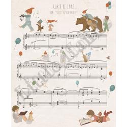 Murale Carta da Parati Clair de Lune