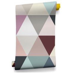 Soft Mosaic Wallpaper
