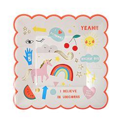 Unicorn Small Plates from Meri Meri :: Baby Bottega