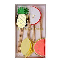Fruit Party Picks designed for Meri Meri :: Available online at Baby Bottega