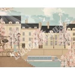 The Seine Mural Wallpaper