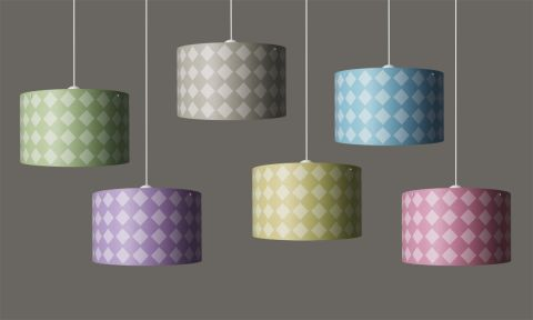 Diamonds Hanging Lamp