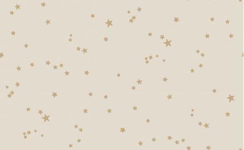 Stars Wallpaper Beige