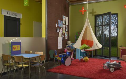 Tenda sospesa in colore verde da Cacoonworld Bebo :: Baby Bottega