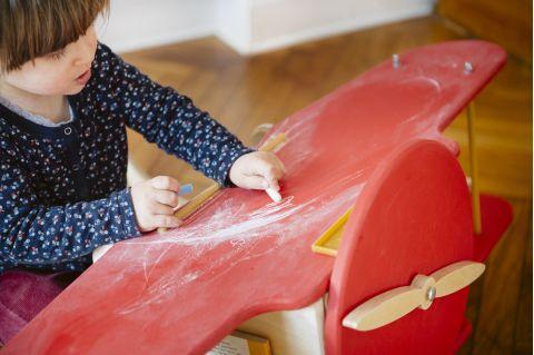 scrivania sirius aereo kid's garret Amelia Earhart 5