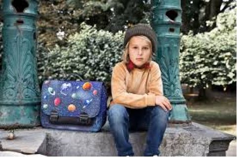 Space Boy Midi Bookbag :: Available online at Baby Bottega