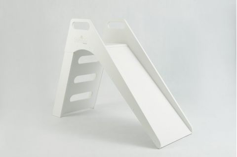 Toboggan Slide white from Misioo :: Indoor Playgrounds :: Baby Bottega