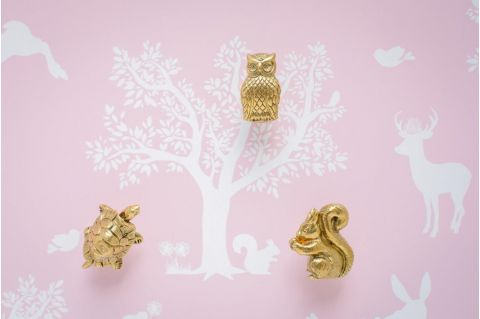Owl Knob Forest Parade Collection :: Knob, Handles & Hooks from Baby Bottega