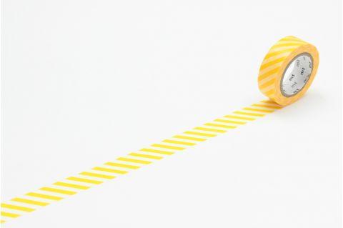 Nastro Adesivo Decorativo Stripe Yellow