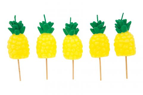 Pineapple Cake Candles