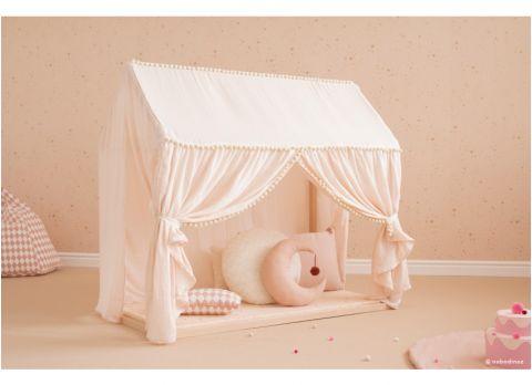 Charlotte Home, Gold Stella white from Nobodinoz :: Design Bottega