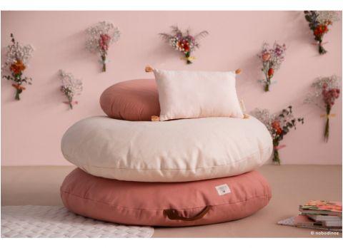 Bean Bag Pouffe in dolce vita pink from Nobodinoz :: Baby Bottega