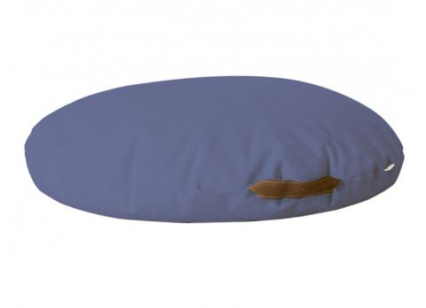 Bean Bag Pouffe in aegean blue from Nobodinoz :: Baby Bottega