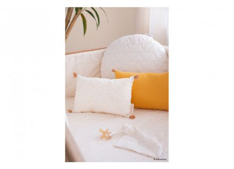 Cushion with honey sweet dots from Nobodinoz :: Baby Bottega