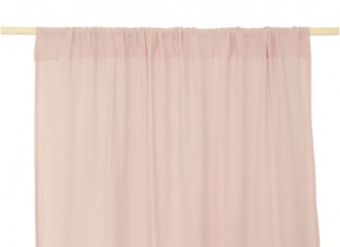 Utopia Curtain in dream pink from Nobodinoz :: Baby Bottega
