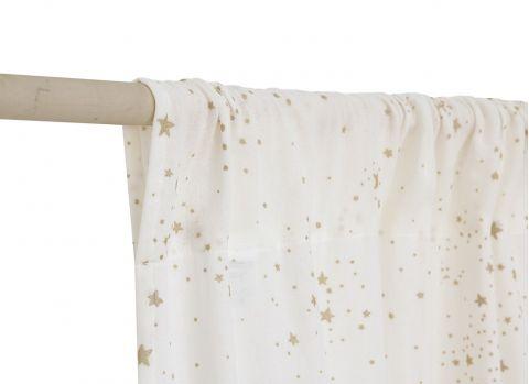 Utopia Curtain in white from Nobodinoz :: Baby Bottega