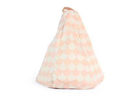 Pouf di Marrakech, scaglie rosa :: Disponibile presso Design Bottega