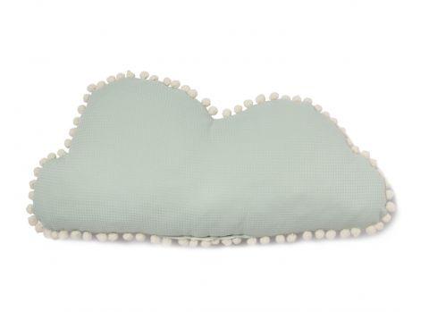 Marshmallow, cuscino nuvolo, colore aqua da Nobodinoz :: Presso Design Bottega