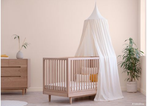 Canopy in honey sweet dots  from the Amour collection Nobodinoz :: Baby Bottega