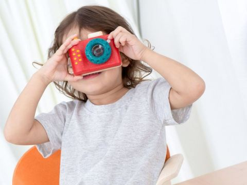 My First Camera, eco-friendly toys Plan Toys :: Baby Bottega
