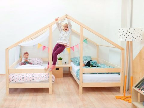 STUDY a Montessori styled single bed from Benlemi :: Available at Baby Bottega