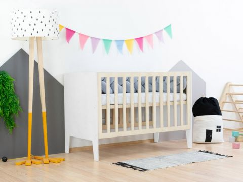 SLEEPY, a Montessori styled cot from Benlemi white
