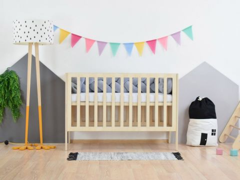 SLEEPY, a Montessori styled cot from Benlemi, front view