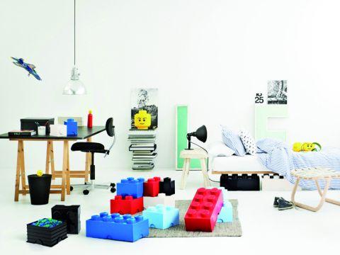 Contenitore Lego Blu Ambiente