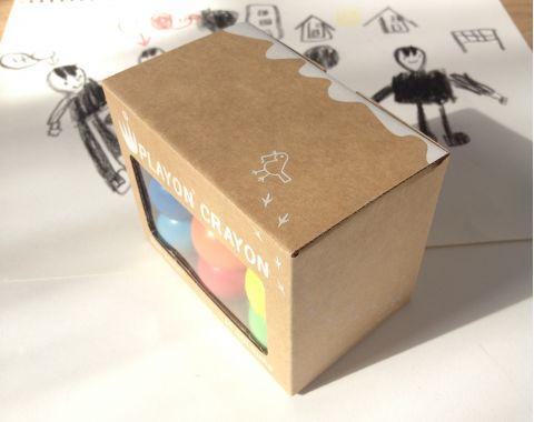 Crayon 6 Pack Pastel Colours Box