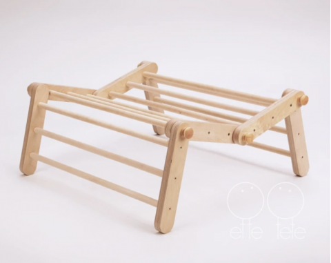 Mopitri, modificable Pikler triangle with ramp from ette tete :: Baby Bottega